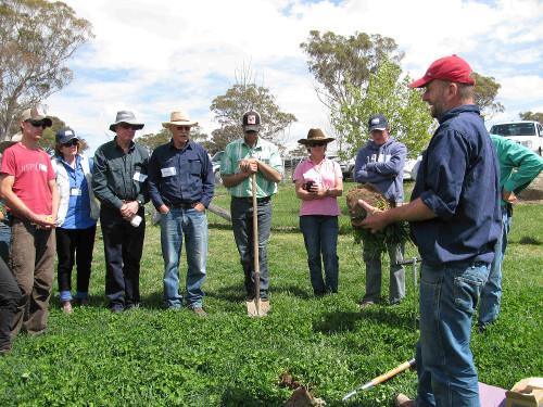 Soil Health Workshop CT landcare NSW web