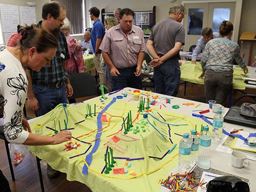 Planning farm landscape